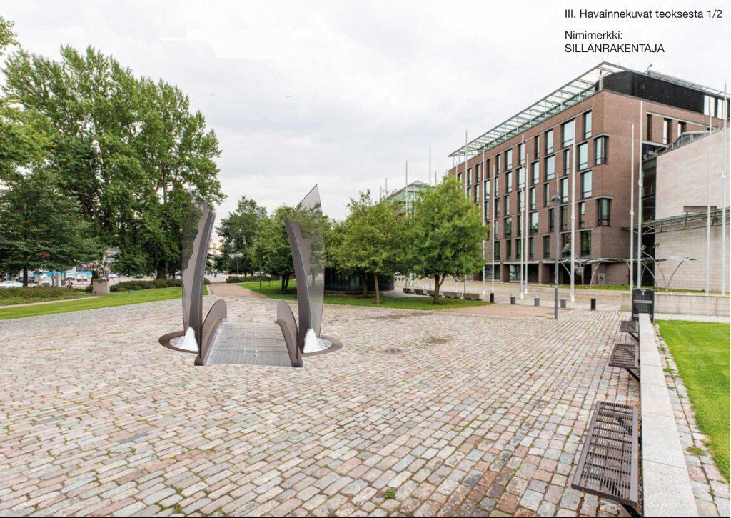 Finland är en bro mellan öst och väst och president Mauno Koivisto var en outtröttlig och skicklig byggare av den bron. Bron symboliserar president Koivistos livsverk för Finlands och världens bästa.