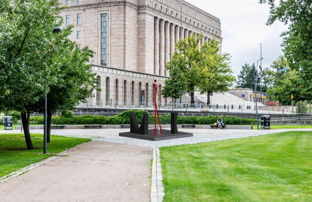 Mauno Henrik Koiviston elämäntyö kuvastuu geometrisen pelkistetyissä kivissä.